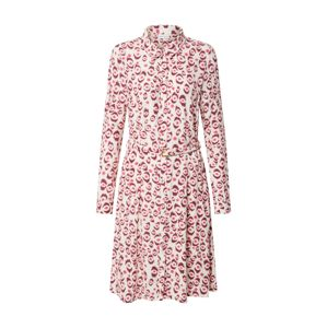 Fabienne Chapot Košilové šaty 'Hayley'  krémová / bordó / tmavě růžová