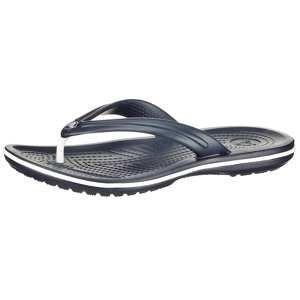 Crocs Žabky 'Flip'  tmavě modrá / bílá