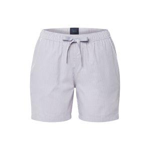 SCHIESSER Pyžamové kalhoty  světle šedá