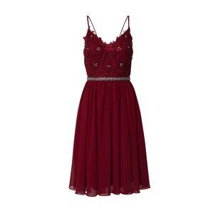 Mascara Koktejlové šaty 'SHORT CHIFFON'  vínově červená