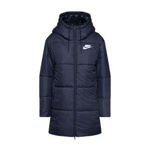 Nike Sportswear Zimní kabát  bílá / černá