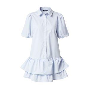 Trendyol Košilové šaty  světlemodrá