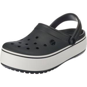 Crocs Pantofle 'Crocband'  černá / bílá