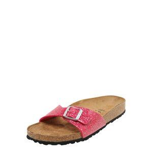 BIRKENSTOCK Pantofle 'Madrid Cosmic Sparcle'  pink