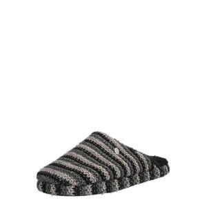 ESPRIT Pantofle 'Doni'  šedá / černá
