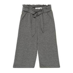 NAME IT Kalhoty 'NMFNINA WIDE 7/8 PANT'  šedý melír