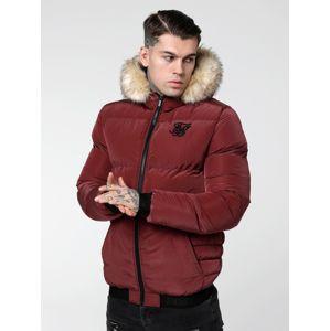 SikSilk Zimní bunda 'siksilk distance jacket'  burgundská červeň
