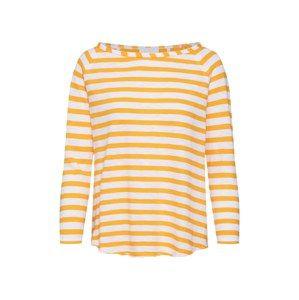 Rich & Royal Tričko 'Heavy Jersey'  oranžová / bílá