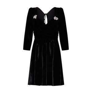 The Kooples Koktejlové šaty  černá