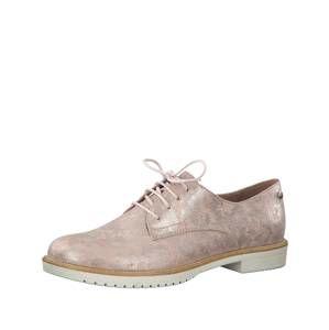 TAMARIS Šněrovací boty  růžová
