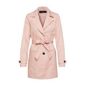 VERO MODA Přechodný kabát 'Eva Abby'  růžová