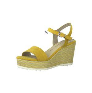 MARCO TOZZI Sandály  žlutá