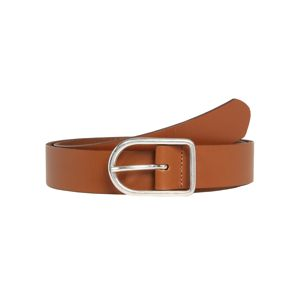 PIECES Opasek 'PCAGDA LEATHER JEANS BELT'  koňaková