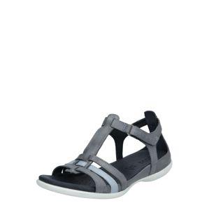 ECCO Páskové sandály 'Flash'  šedá