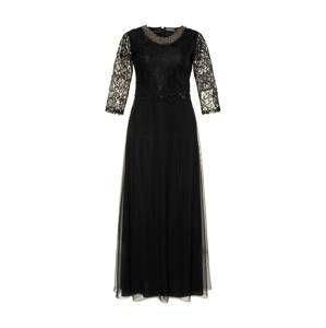 Ulla Popken Společenské šaty  černá