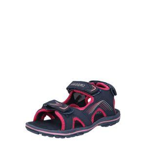 KAPPA Sandály 'SHIPLAKE K'  námořnická modř / pink