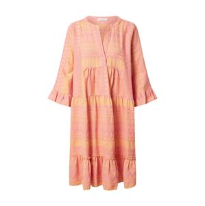 Flowers for Friends Košilové šaty  oranžová / růžová
