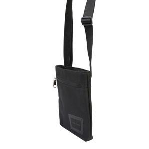 Calvin Klein Jeans Taška přes rameno 'ESSENTIALS MICROFLATPK'  černá