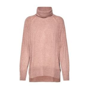 Whistles Svetr 'CASHMERE ROLL NECK SWEATER'  pink