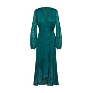 Bardot Společenské šaty 'Mirela Wrap Dress'  smaragdová