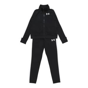 UNDER ARMOUR Sportovní oblečení  černá / bílá