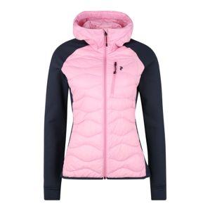 PEAK PERFORMANCE Přechodná bunda  černá / růžová