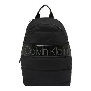 Calvin Klein Batoh 'PUFFER ROUND BACKPACK'  černá