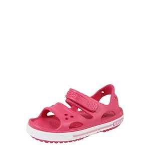Crocs Sandály 'Crocband II Sandal PS'  pink / bílá