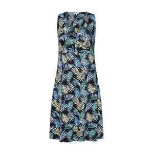 TOM TAILOR Letní šaty  mix barev / černá