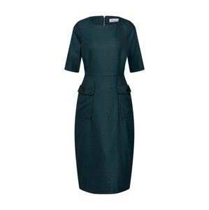 Closet London Pouzdrové šaty 'Closet Cargo Pockets Pencil Dress'  tmavě zelená