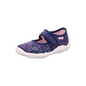 SUPERFIT Pantofle 'BONNY'  růžová / námořnická modř / bílá