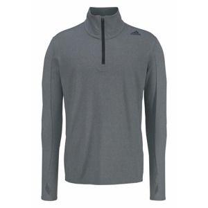 ADIDAS PERFORMANCE Funkční tričko 'SUPERNOVA 1/2 ZIP MEN'  šedá