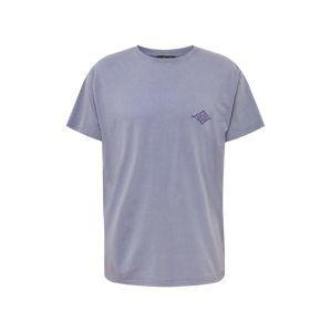 NEW LOOK Tričko 'RPMJJ 23.11.18 TBC EMB WASHED TEE'  fialová