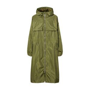 SAVE THE DUCK Přechodný kabát 'GIUBBOTTO CAPPUCCIO'  tmavě zelená