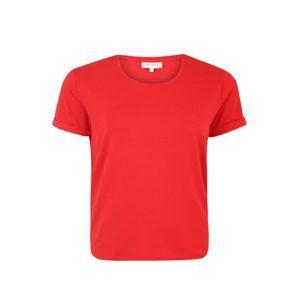 ONLY Carmakoma Tričko 'CARMA'  ohnivá červená