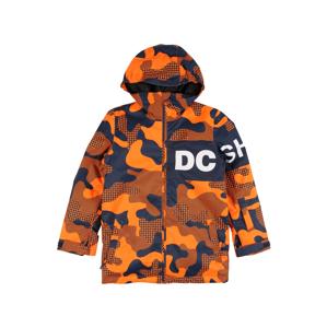 DC Shoes Outdoorová bunda  oranžová / námořnická modř / bílá