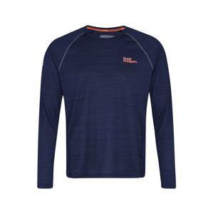 Superdry Funkční tričko 'ACTIVE LOOSE MICROVENT L/S TEE'  námořnická modř