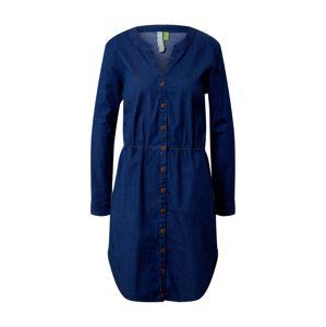 Alife and Kickin Košilové šaty 'HannahAK'  tmavě modrá / modrá džínovina