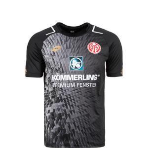 LOTTO Funkční tričko 'FSV Mainz 05 Away 2017/2018'  tmavě šedá / černá