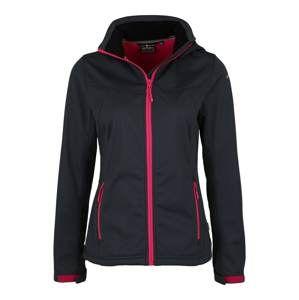 ICEPEAK Outdoorová bunda  šedá / pink