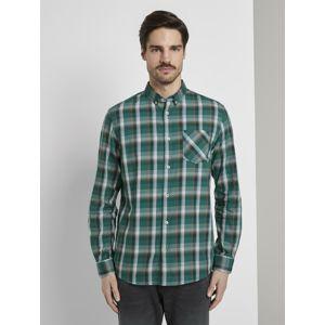 TOM TAILOR Košile  zelená