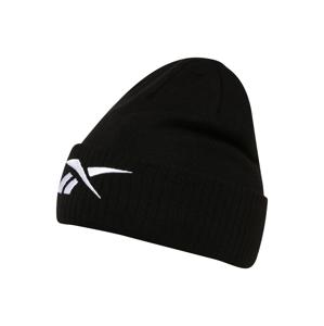 REEBOK Sportovní čepice  bílá / černá