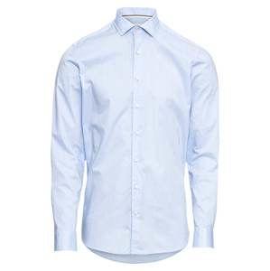 OLYMP Společenská košile 'Level 5 Smart Business Struktur'  modrá