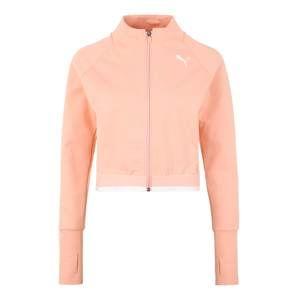 PUMA Sportovní bunda 'Soft Sports Jacket'  broskvová