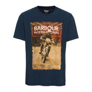 Barbour International Tričko 'Archive Tee'  námořnická modř