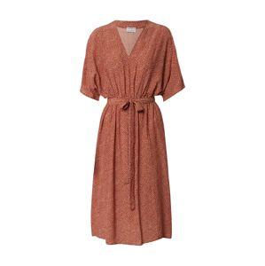 CATWALK JUNKIE Letní šaty  rezavě červená / bílá