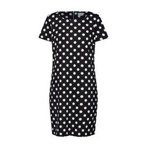 VILA Letní šaty 'VITINNY'  černá / bílá