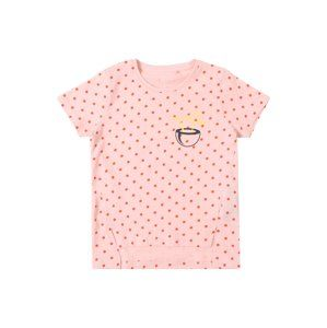 NAME IT Tričko 'NMFVIA SS TOP J'  noční modrá / žlutá / pink / růžová