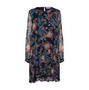 Essentiel Antwerp Šaty 'Shambles dress with flounce'  mix barev / černá
