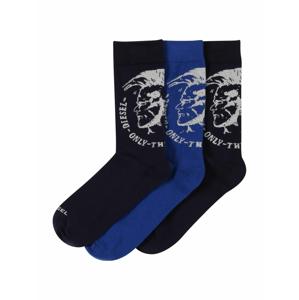 DIESEL Ponožky  noční modrá / královská modrá / černá / bílá